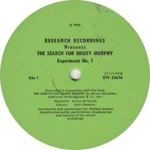 RESEARCH RECORDINGS 23677 - BERNSTEIN - BRIDEY MURPY RB