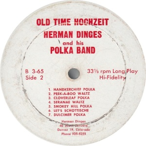 DINGES HERMAN - DINGES 65 - R B