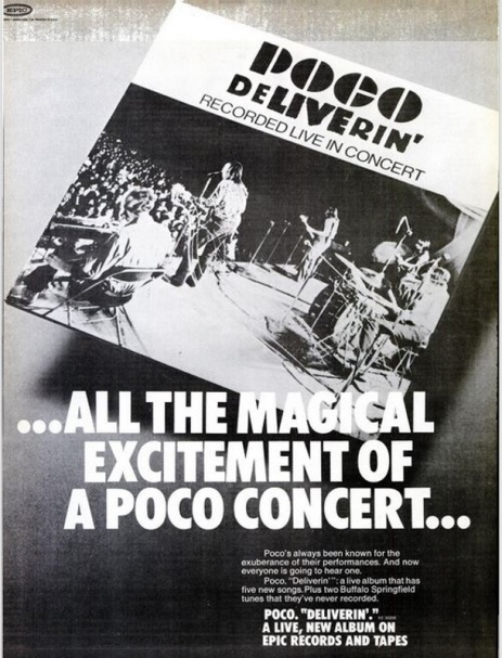 Billboard Ad January 1971