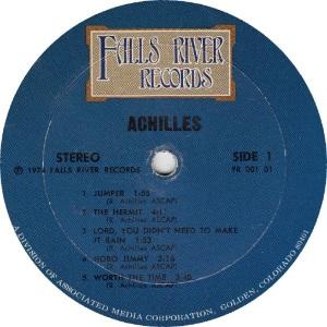ACHILLES - FALLS RIVER 101 - RA