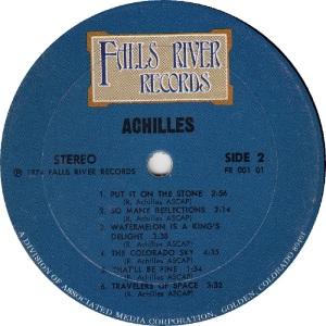 ACHILLES - FALLS RIVER 101 - RB