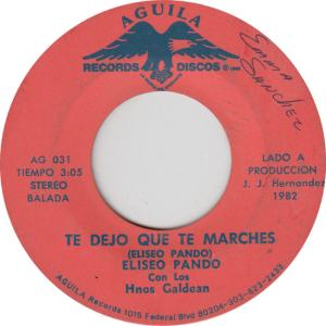 AGUILA 31 - PANDO - MARCHES A