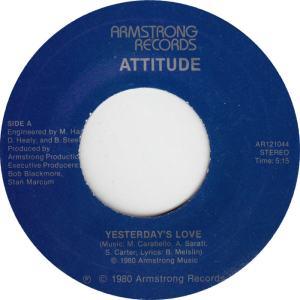 ARMSTRONG 12104 - ATTITUDE 1980 A