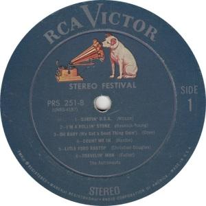 ASTRONAUTS - RCA 251 PROMO - RA