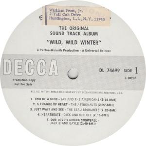 ASTRONAUTS - RCA WILD WILD WINTER COV