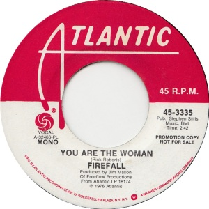 ATLANTIC 3335 - FIREFALL - 1976 DJ A