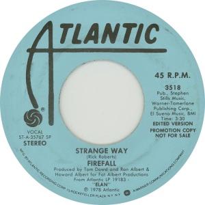 ATLANTIC 3518 - FIREFALL - 1978 DJ A