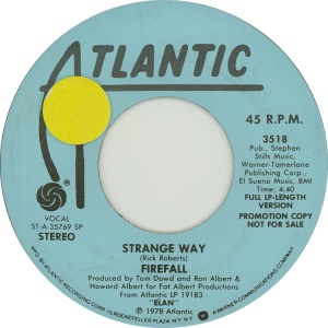 ATLANTIC 3518 - FIREFALL - 1978 DJ B