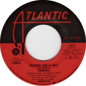 ATLANTIC 3657 - FIREFALL - B 1980