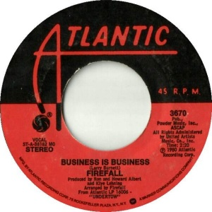 ATLANTIC 3670 - FIREFALL - B