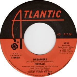 ATLANTIC 3791 FIREFALL - 1980 B