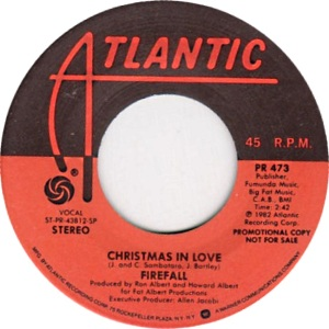 ATLANTIC FIREFALL - CHRISTMAS IN LOVE
