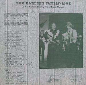 BARLEEN FAMILY - BF 4168 BACK COV