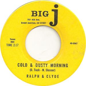 Big J 5587 - Ralph & Clyde - Cold and Dusty Morning