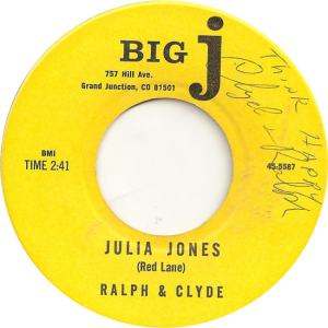 Big J 5587 - Ralph & Clyde - Julia Jones