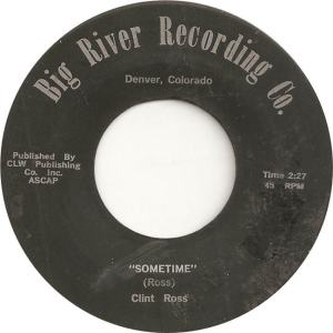 Big River 1 - Ross, Clint - Sometime
