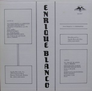 BLANCO ENRIQUE - AGUILA 7 - B COV