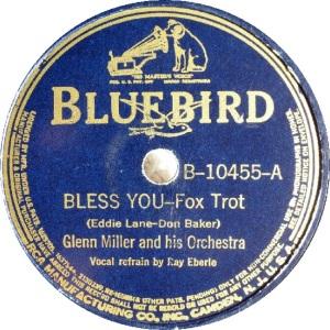 BLUEBIRD 10455 - MILLER GLENN - A