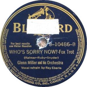 BLUEBIRD 10486 - MILLER GLENN - B