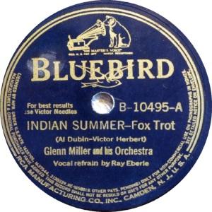BLUEBIRD 10495 - MILLER GLENN - A