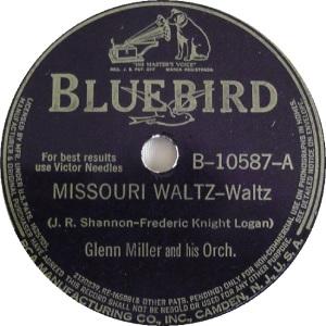 BLUEBIRD 10587 - MILLER GLENN - A