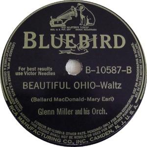 BLUEBIRD 10587 - MILLER GLENN - B