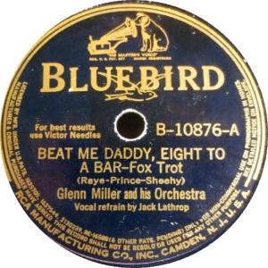 BLUEBIRD 10876 - MILLER GLENN A