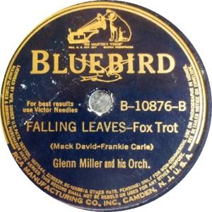 BLUEBIRD 10876 - MILLER GLENN B