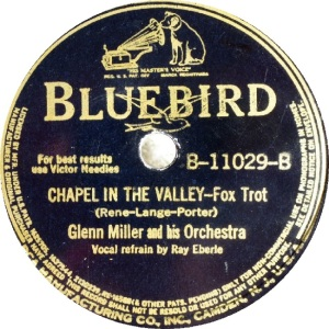 BLUEBIRD 11029 - MILLER GLENN - B