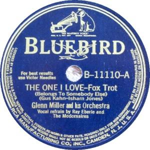 BLUEBIRD 11110 - MILLER GLENN - A