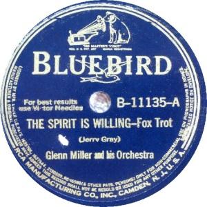 BLUEBIRD 11135 - MILLER GLENN A