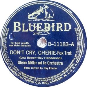 BLUEBIRD 11183 - MILLER GLENN - A