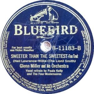 BLUEBIRD 11183 - MILLER GLENN - B