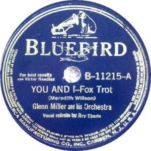 BLUEBIRD 11215 - MILLER GLENN - A