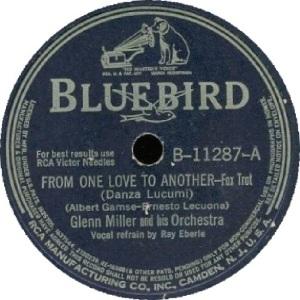 BLUEBIRD 11287 - MILLER GLENN - A