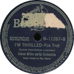 BLUEBIRD 11287 - MILLER GLENN - B