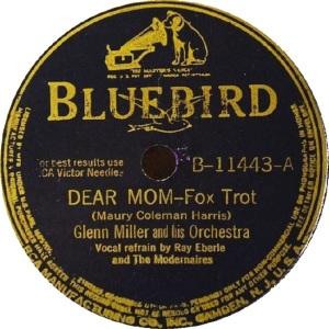 BLUEBIRD 11443 - MILLER GLENN - A