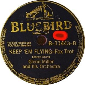 BLUEBIRD 11443 - MILLER GLENN - B