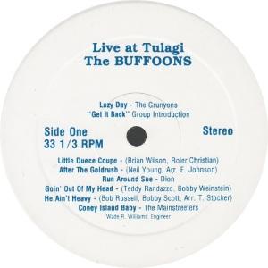 BUFFOONS - BUFF 1 - LIVE TULAGI RA1 (1)