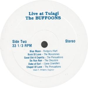 BUFFOONS - BUFF 1 - LIVE TULAGI RA1 (2)