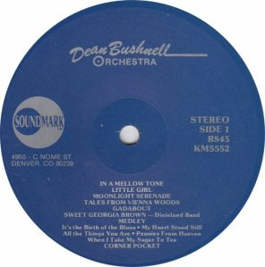 BUSHNELL ORCHESTRA - SOUNDMARK 845 - RA (1)A