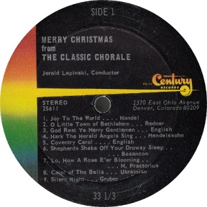 CLASSIC CHORALE - CENTURY - CHRISTMAS (1)