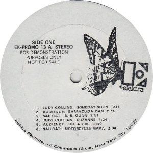 COLLINS JUDY - ELEKTRA 13 - RA