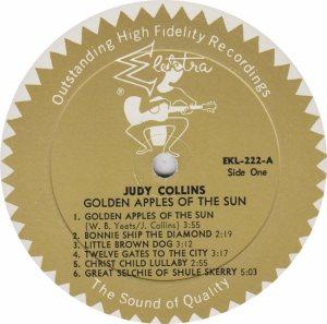 COLLINS JUDY- ELEKTRA 222 - RA (4) B