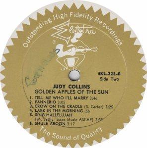 COLLINS JUDY- ELEKTRA 222 - RA (5) B