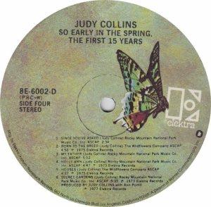 COLLINS JUDY- ELEKTRA 6002 - RA (4) A