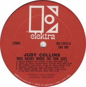 COLLINS JUDY- ELEKTRA 74033 - RA (1) B