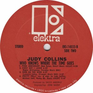 COLLINS JUDY- ELEKTRA 74033 - RA (2) B
