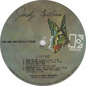 COLLINS JUDY- ELEKTRA 75014 - RA (1) A