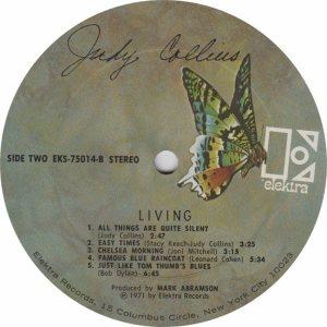 COLLINS JUDY- ELEKTRA 75014 - RA (2) A